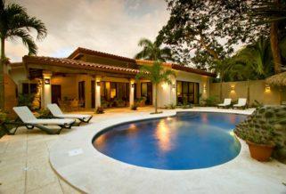 Casa Cascada at Playa Potrero for